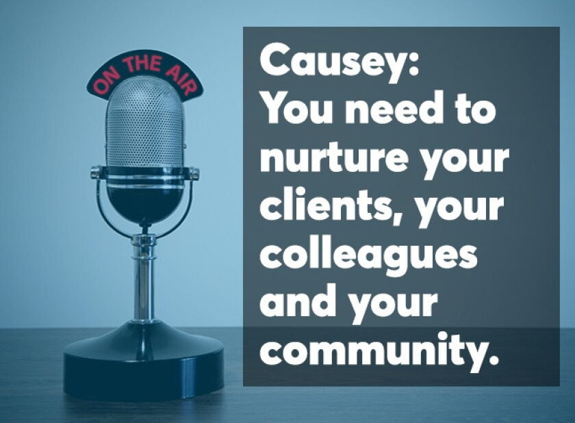 Causey podcast screen