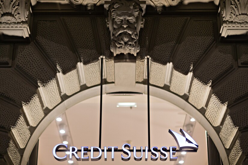 Credit Suisse real estate by Bloomberg News