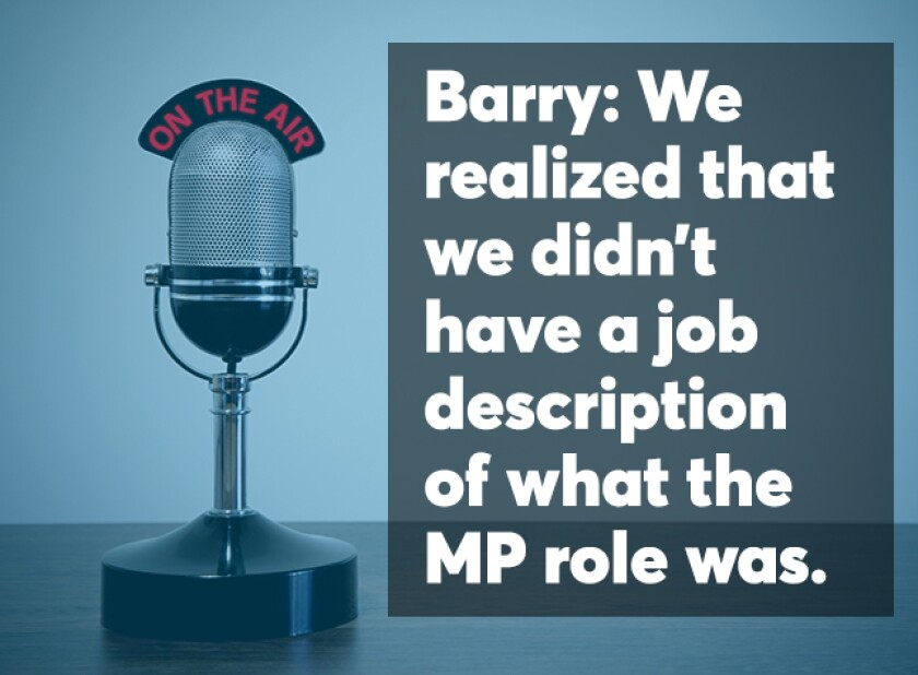 Barry podcast screen