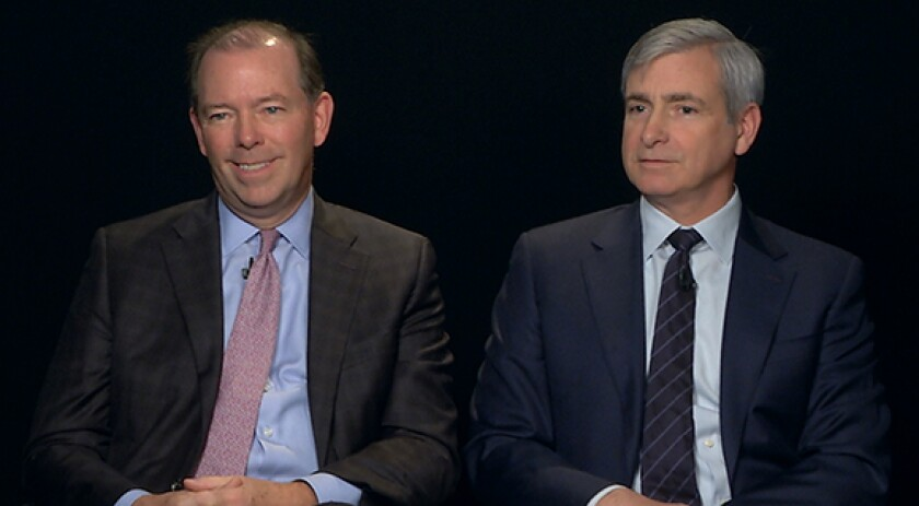 Antares Capital co-Ceos John Martin David Brackett