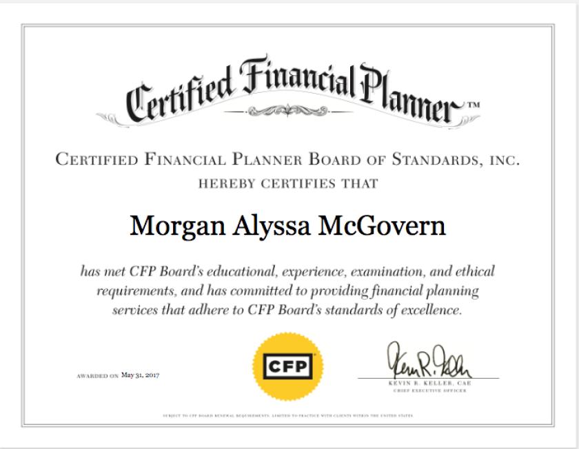 CFP Board digital certificate 2 1 19
