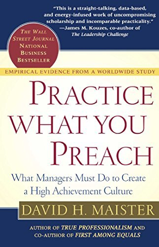 Book cover - Practice What You Preach