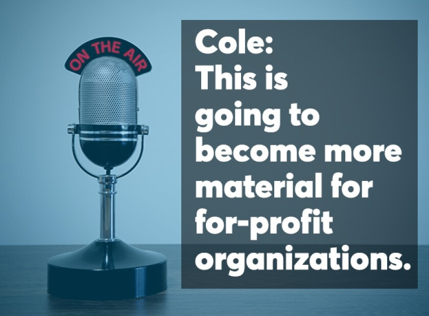 Cole podcast screen