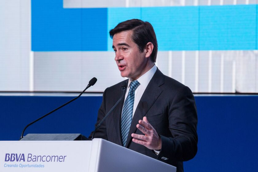 Presidential Candidates And BBVA Bancomer SA Executives Attend National Meeting Of Regional Councilors