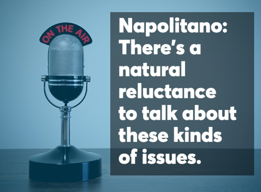 Napolitano Podcast screen