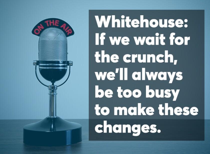Whitehouse podcast screen April 2018