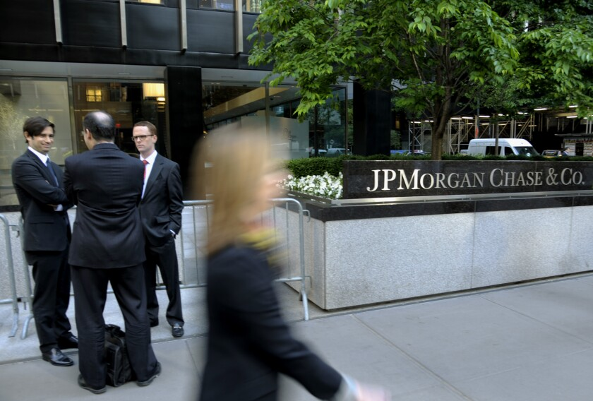 J.P. Morgan by Bloomberg News