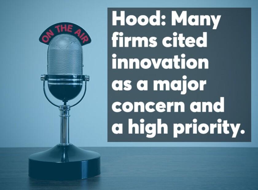 Hood T100 Firms podcast screen