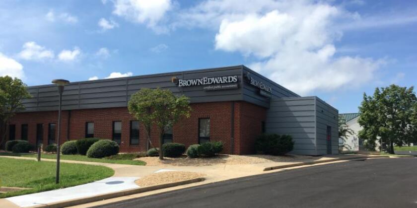 Brown Edwards' office in Harrisonburg, Virginia