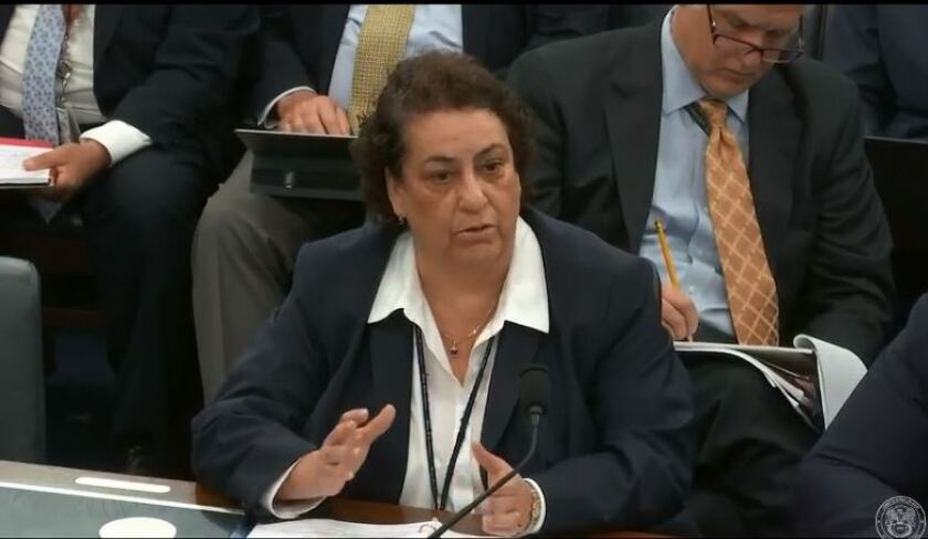 IRS chief information officer Gina Garza