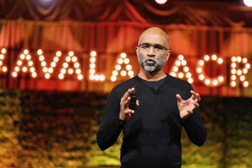 Avalara chief product officer Sanjay Parthasarathy at Crush 2019