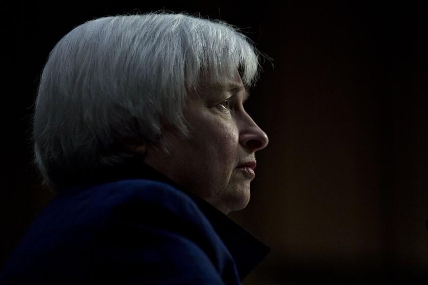 JANET YELLEN BY BLOOMBERG NEWS