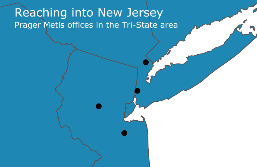 Prager Metis office locations in New Jersey and New York