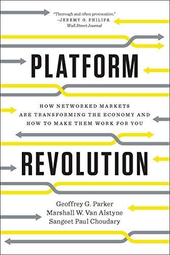 Book cover - Platform Revolution
