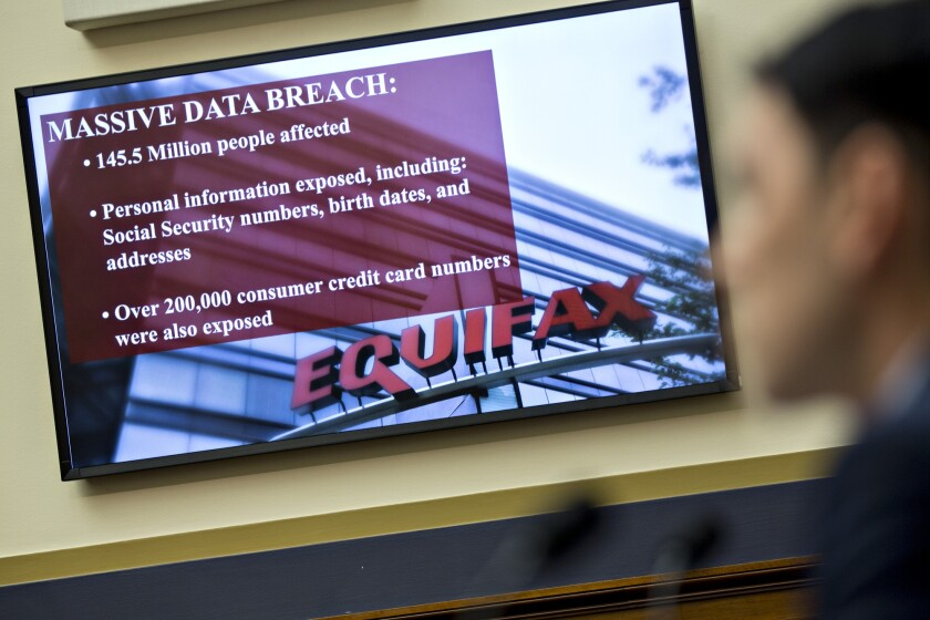 House Financial Services Committee Hearing On The Equifax Data Breach