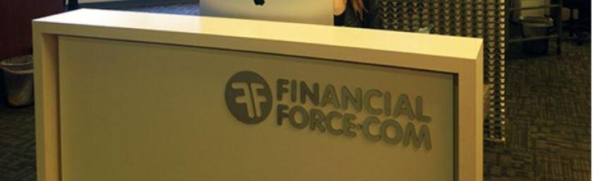 FinancialForce reception desk