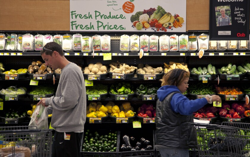 Supervalu owns Cub Foods in Minnesota