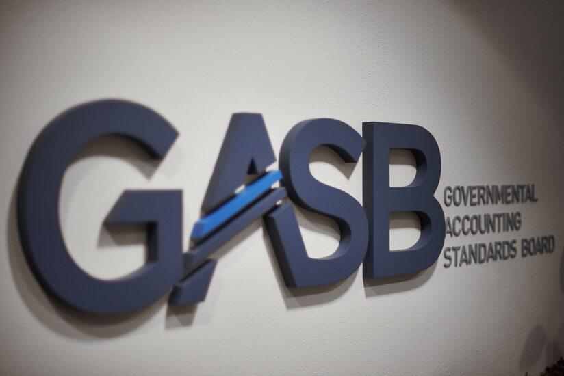 GASB logo at headquarters in Norwalk, Connecticut