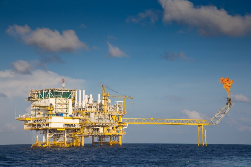 power and upstream gulf drilling  photo