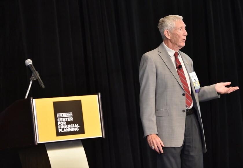 """Financial advising is a discrete matter,"" said Tom Warschauer, a professor emeritus of finance at San Diego State University."