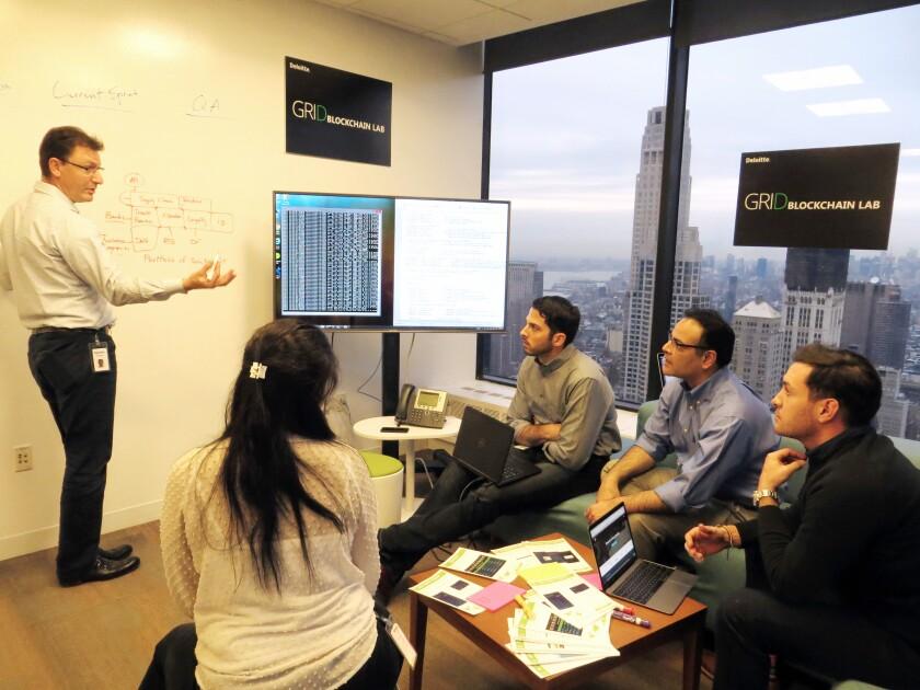 Deloitte blockchain lab