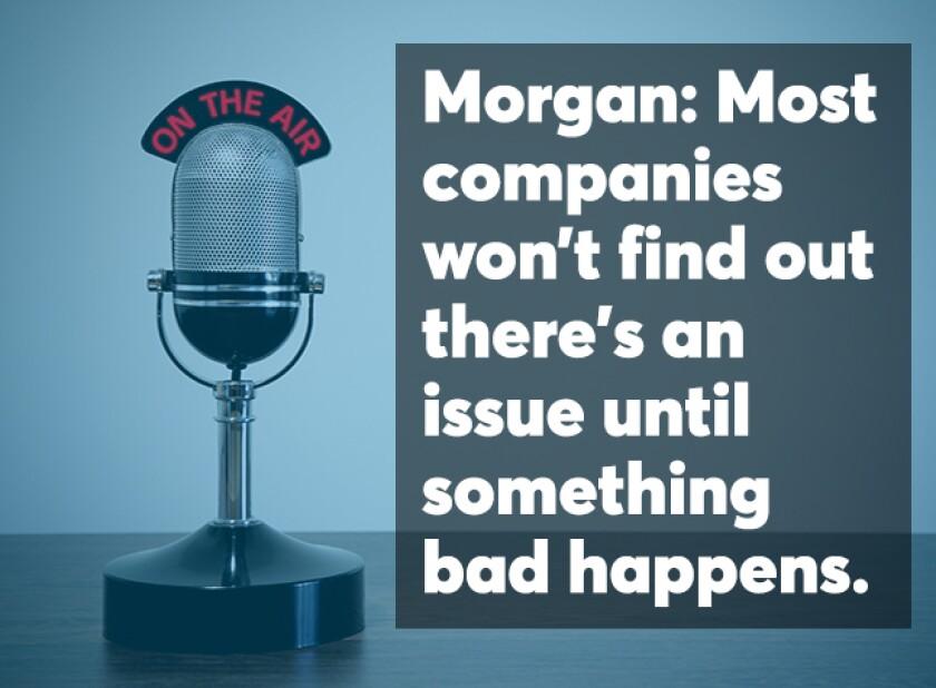 Amy Morgan podcast screen