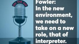 Jamie Fowler podcast screen