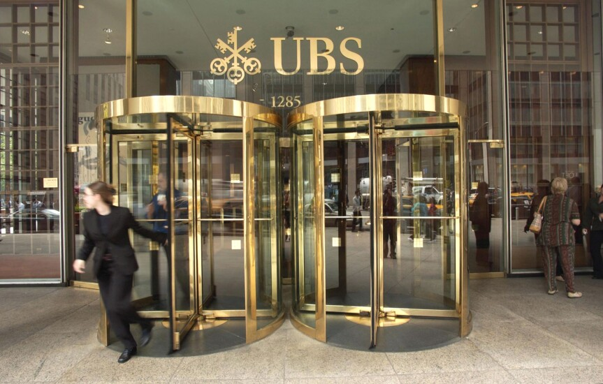 UBS NYC Headquarters Bloomberg News photo
