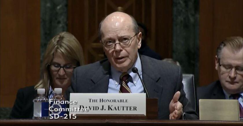 IRS acting commissioner David Kautter