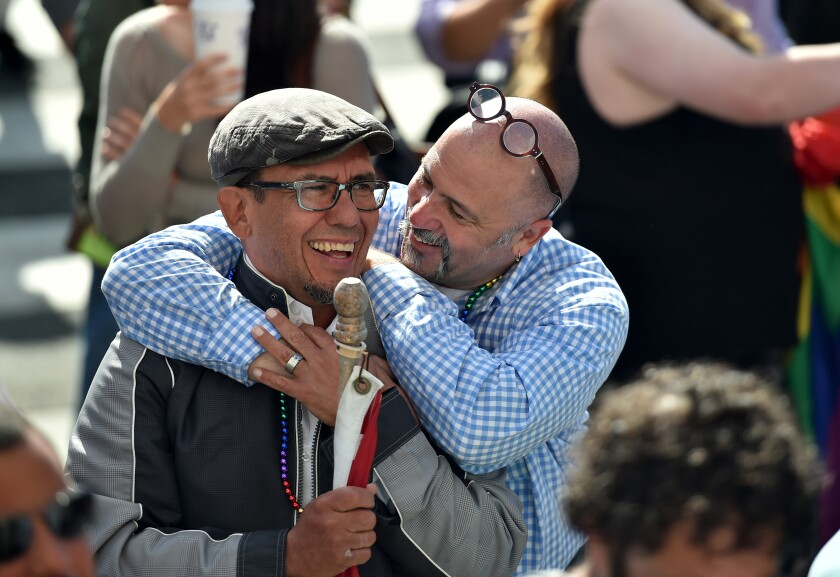 Gay couple by Bloomberg News