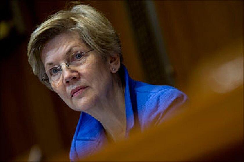 U.S. Sen. Elizabeth Warren (D-Mass.)