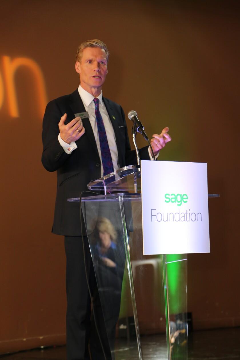 Stephen Kelly Sage CEO