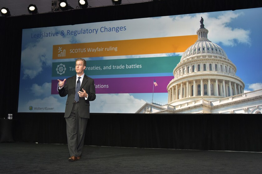 Wolters Kluwer Tax & Accounting North America CEO Jason Marx at CCH Connections