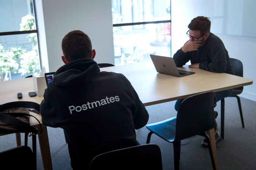 Inside Postmates Offices Ahead Of Possible IPO