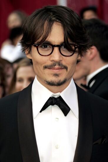 Johnny Depp at the 2008 Academy Awards
