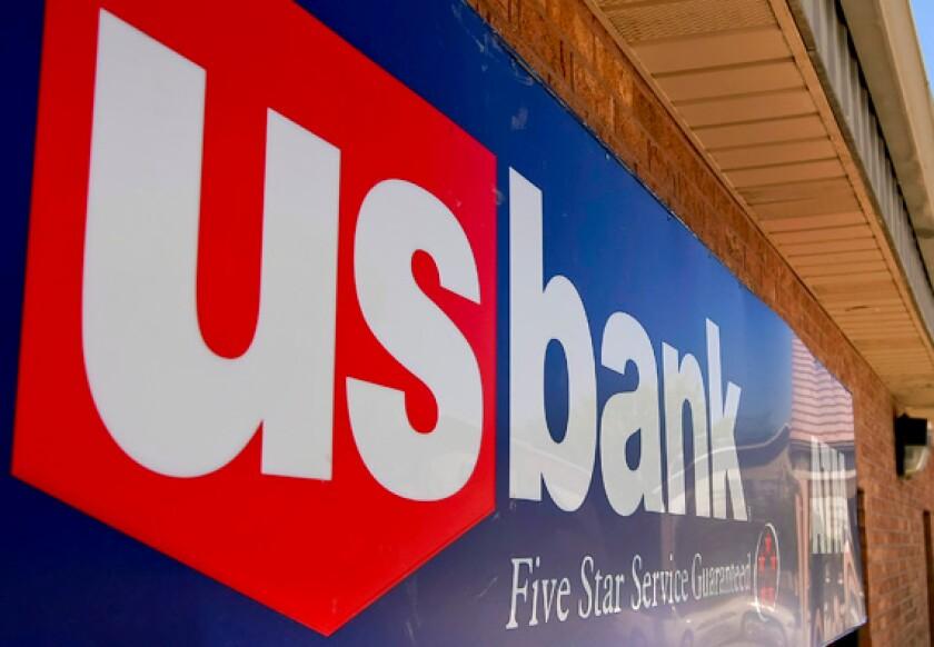 U.S. Bank signage