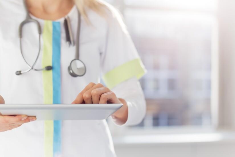 Nurse iPad