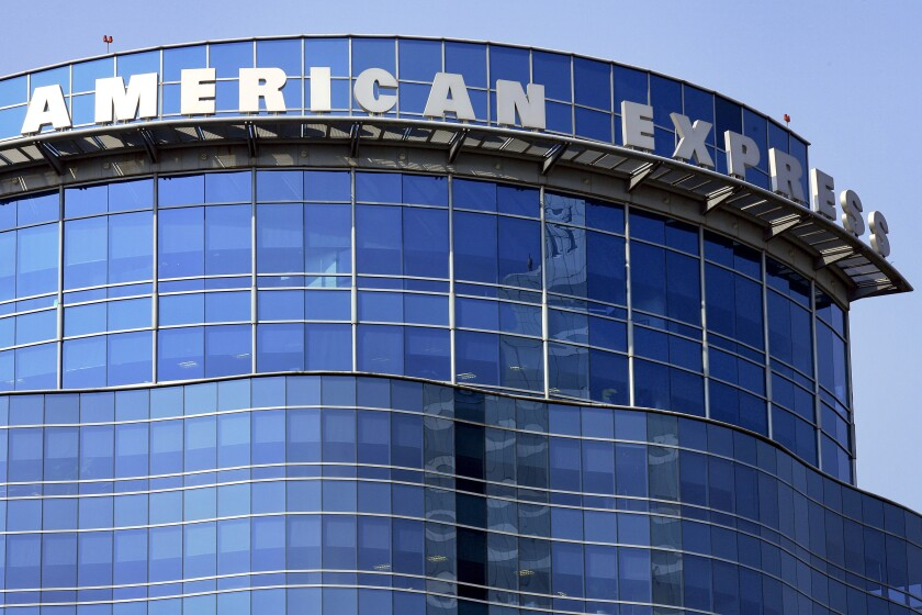 American Express building.