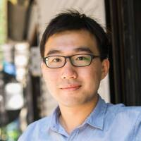 Harry Zhang reporter self portrait
