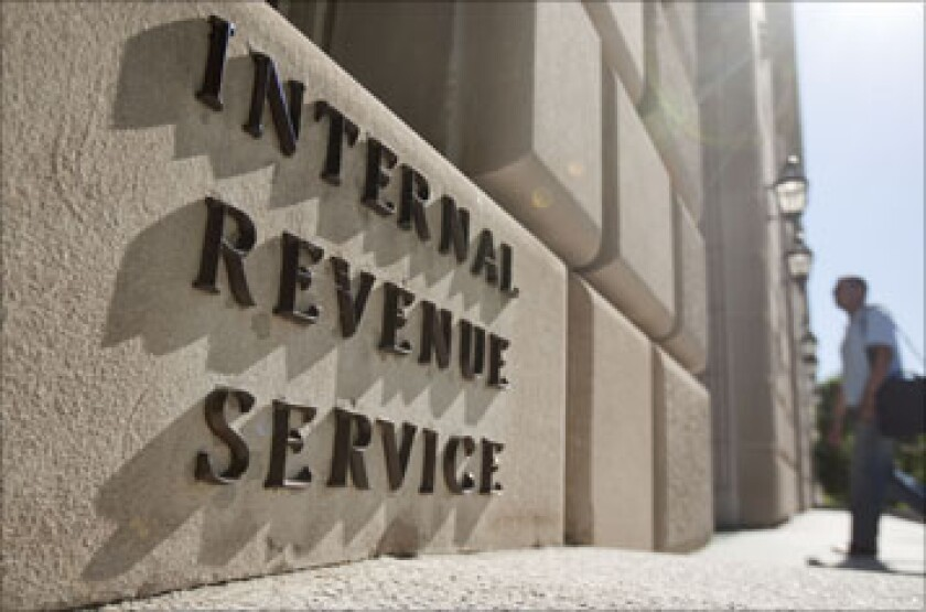 The Internal Revenue Service headquarters in Washington, D.C.