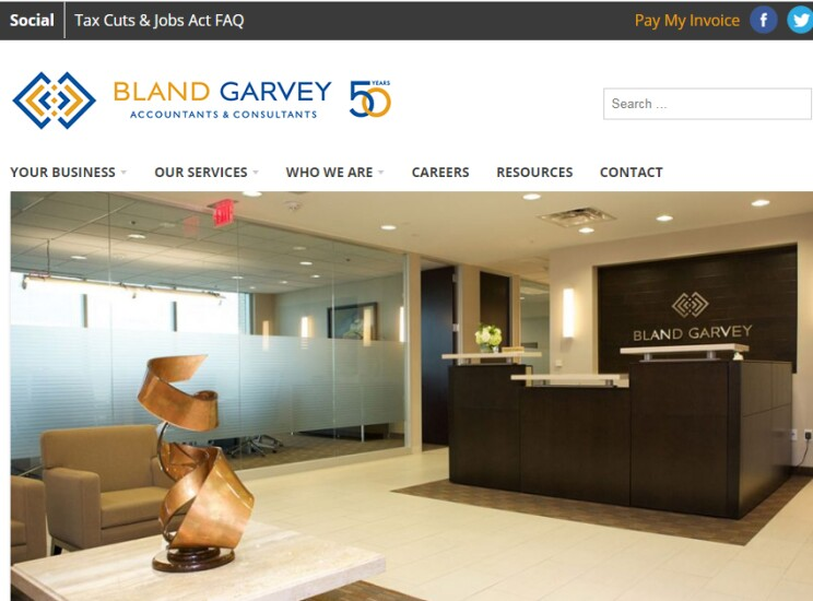Best Firms 2018 - Bland Garvey 2
