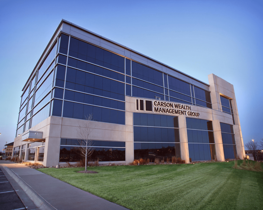 Carson Wealth Management Group building, CWM, provided by Carson Group.
