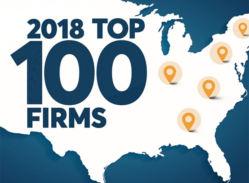 2018 Top 100 Firms horizontal logo