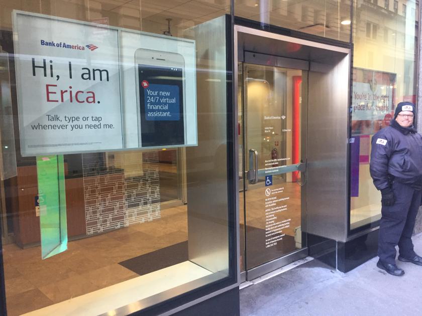 Bank of America, Erica advertisement