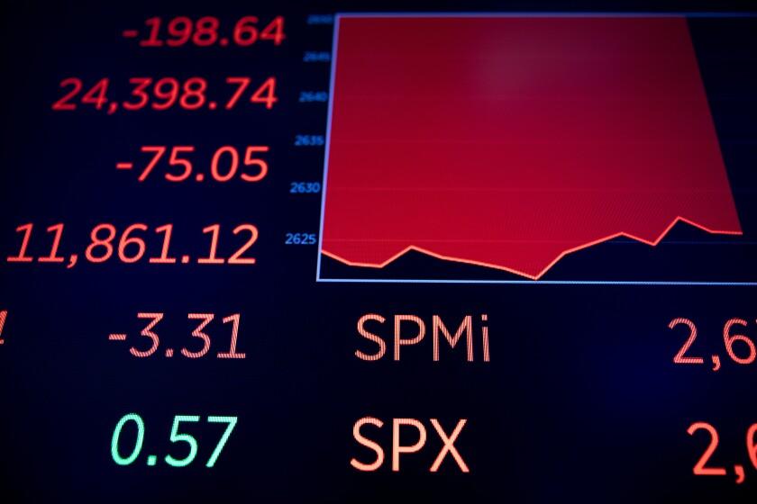 stocks decline markets volatility Bloomberg News