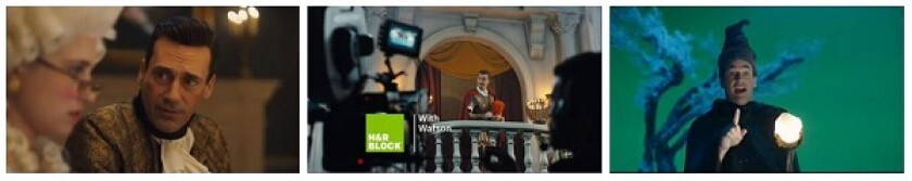 Jon Hamm commercials for H&R Block