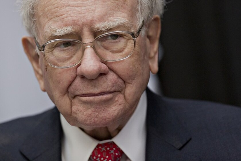 """In a 2013 letter to Berkshire Hathaway shareholders, Warren Buffett gave this recommendation for heirs of his fortune: """"Put 10% of the cash in short-term government bonds and 90% in a very low-cost S&P 500 index fund."""""""