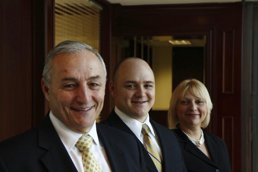 John Brewster, Randall Brewster and Susan McGeachan of Ameriprise