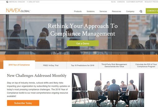 14 top platforms for governance, risk and compliance data