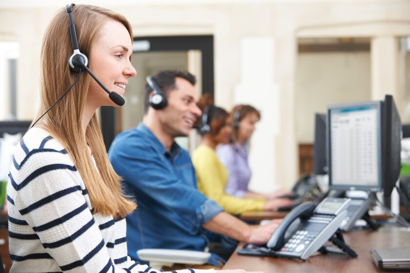 customer service agent call center insurance